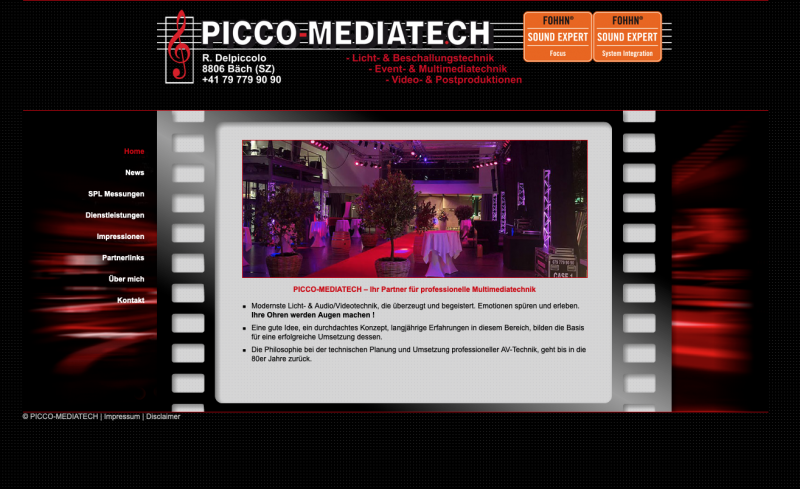 Picco Mediatech – professionelle Multimediatechnik